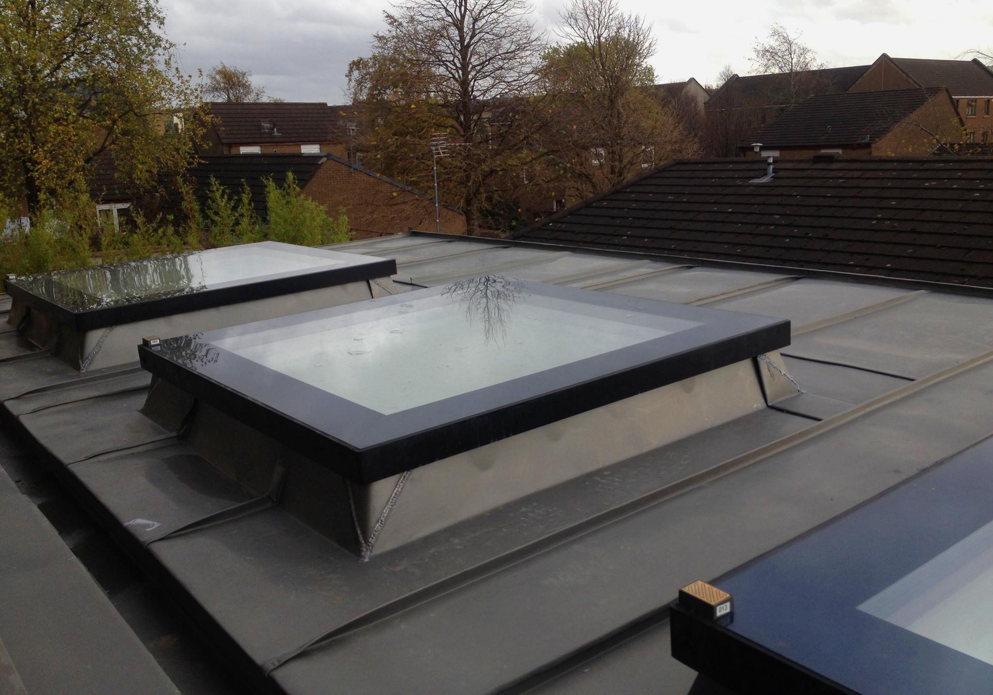 flat roof window