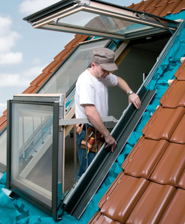 Balcony roof window installer