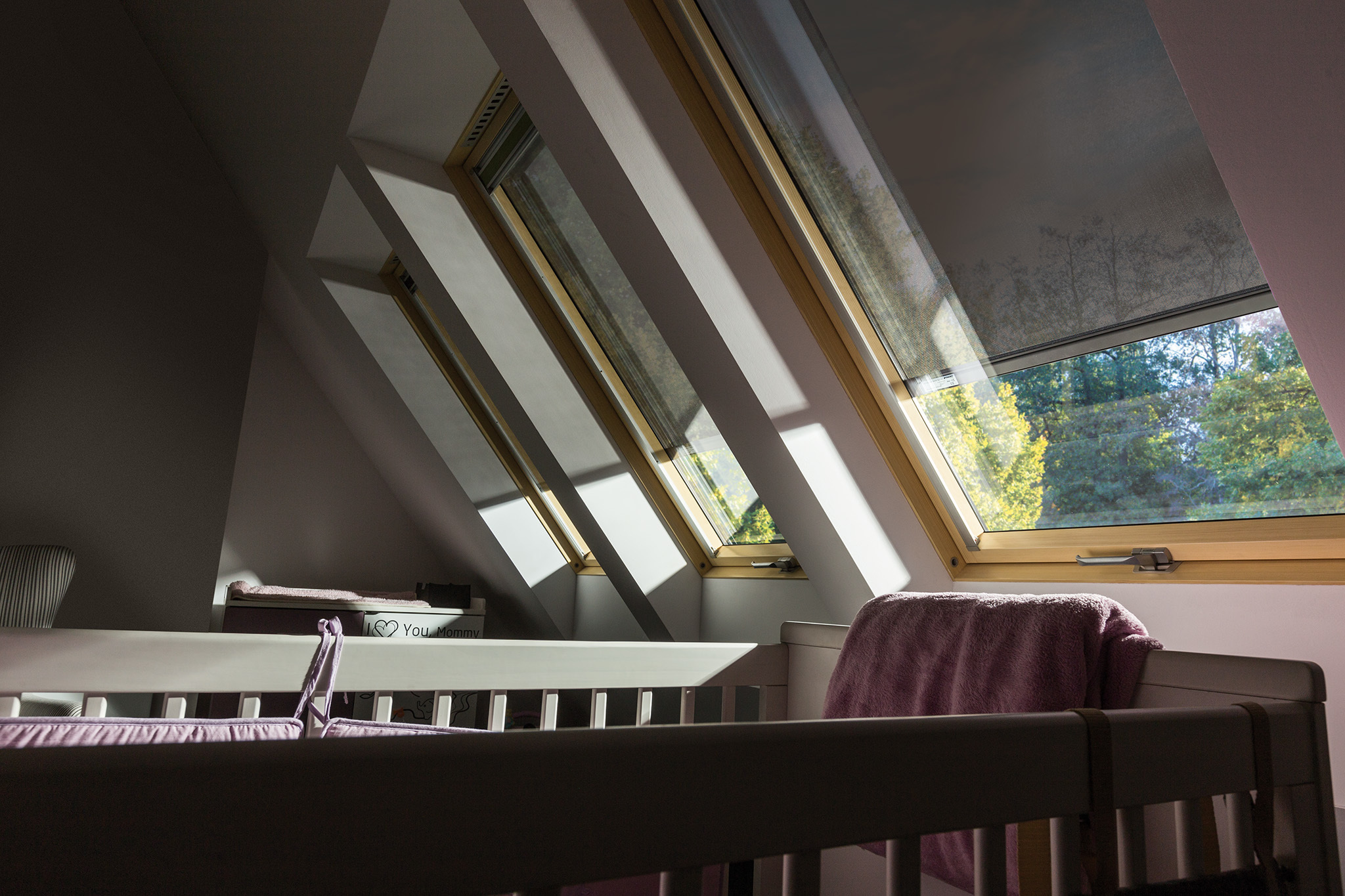 Internal View of Awning Blinds