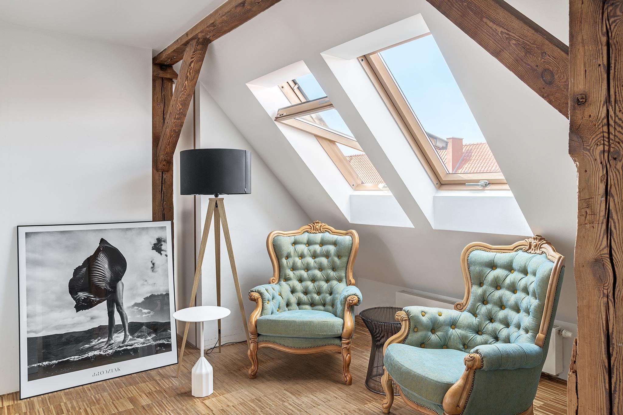 Roof Windows in Room
