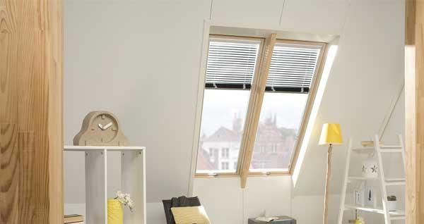 wooden roof windows