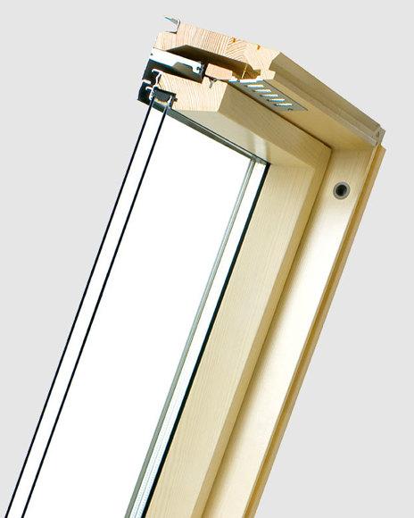 Fakro double glazed window