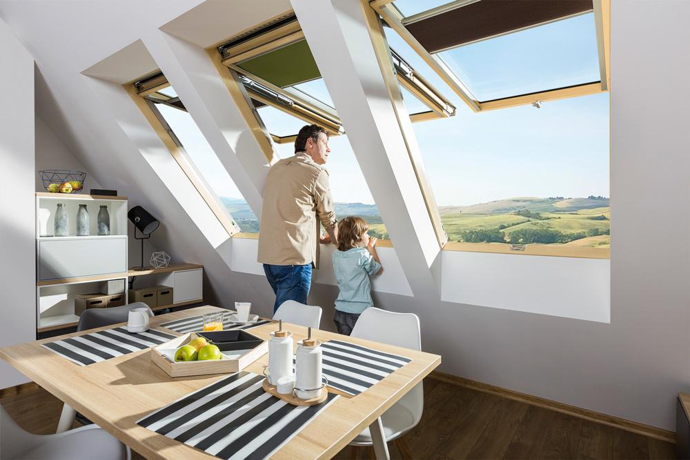 Fakro preselect roof window 14