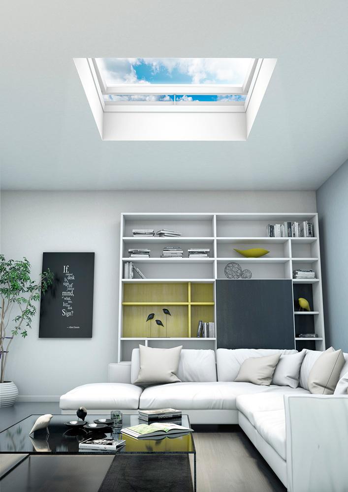 Fakro flat roof window 12