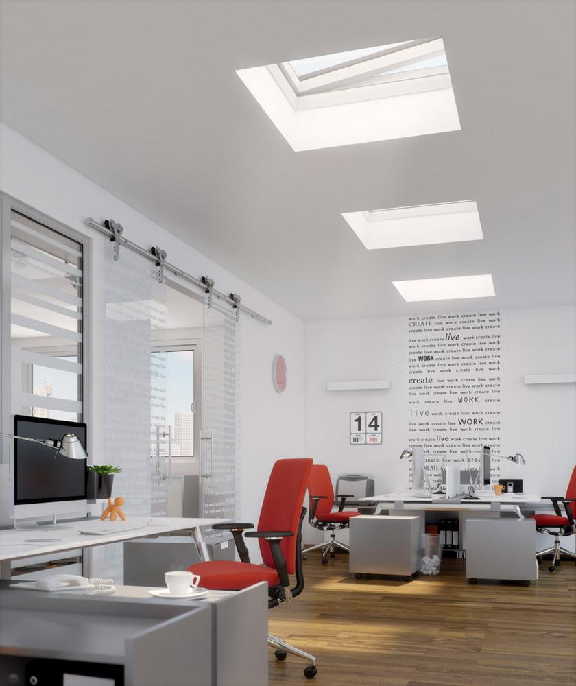 Fakro flat roof window 8
