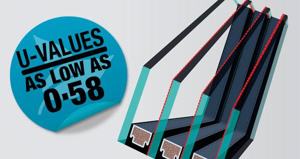 U-VALUES 0.58