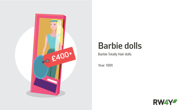 Barbie Totally Hair dolls value graphic RW4Y