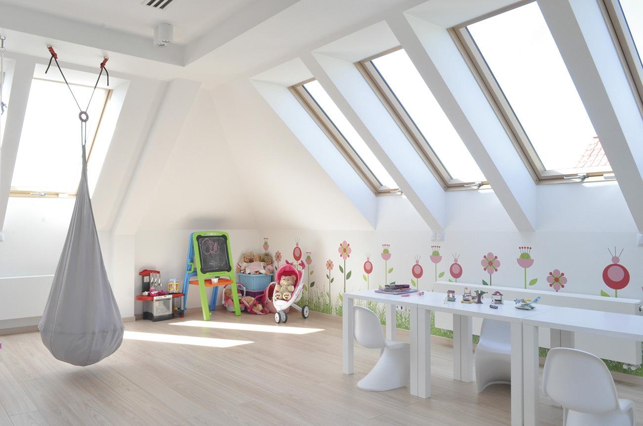 Loft conversion playroom