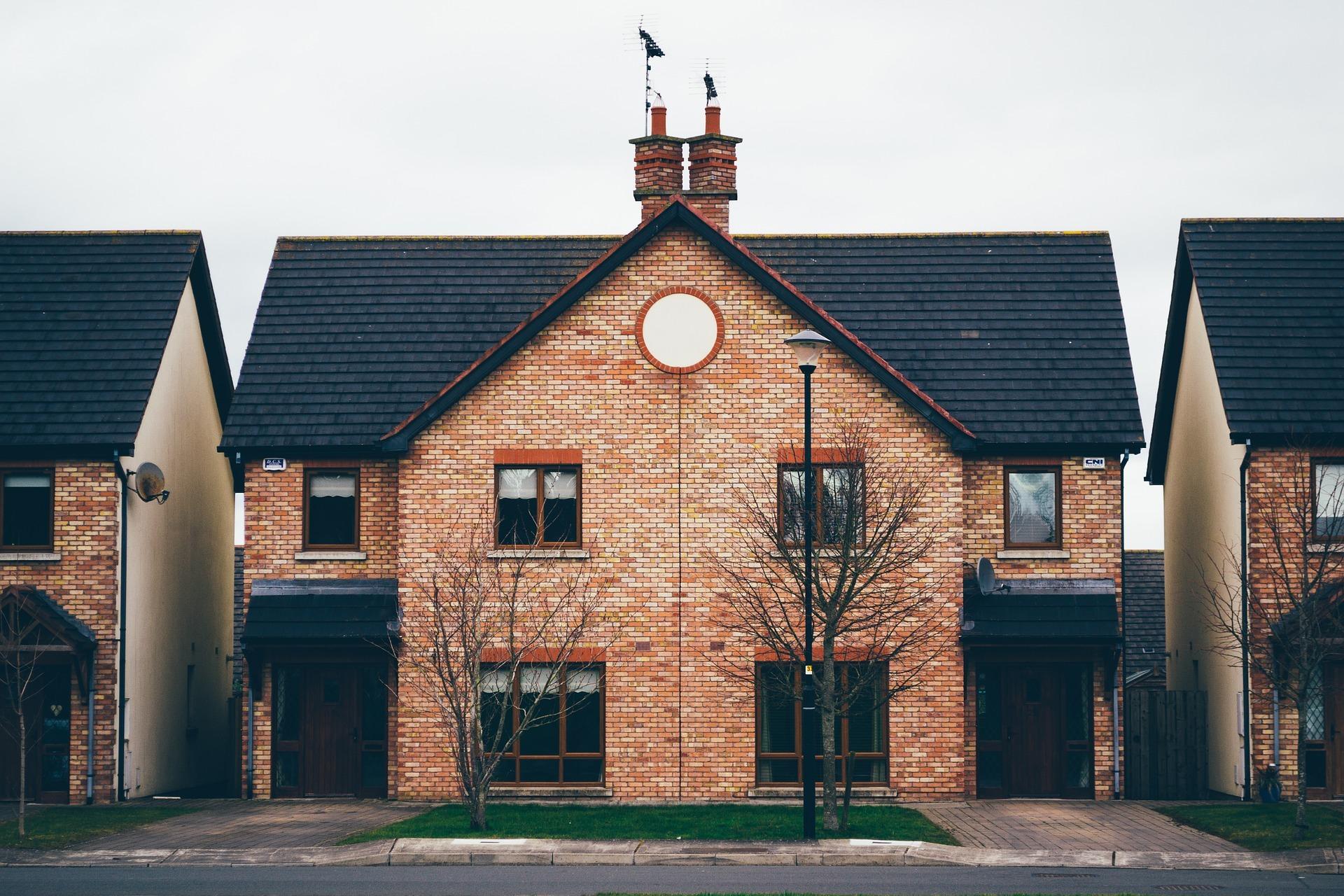 A semi detached house