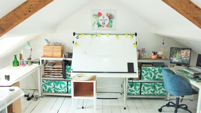 Office furniture ideas for your loft