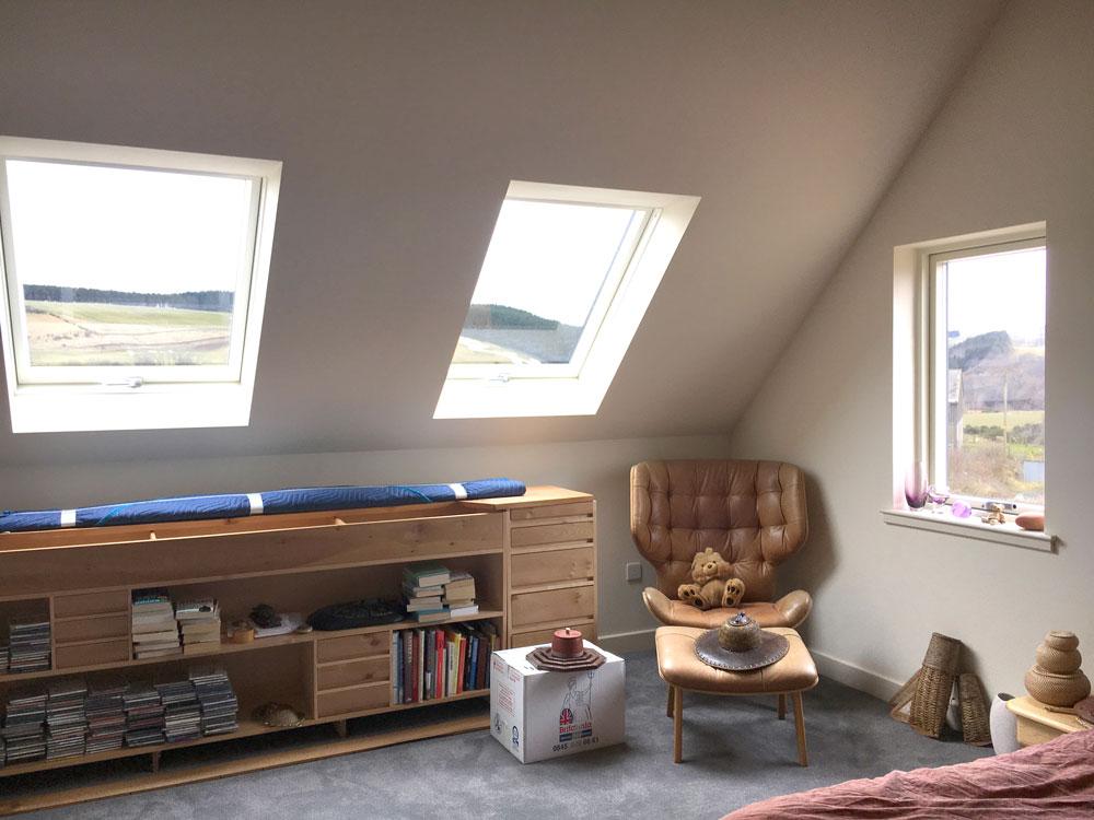 Hoardweel roof window