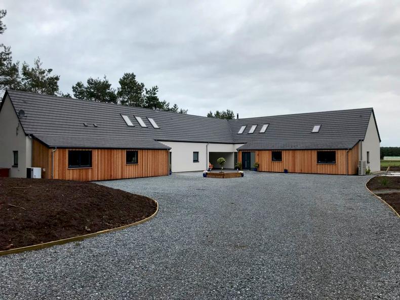roof windows on new build