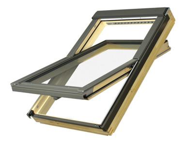 Fakro Pine Centre Pivot Roof Windows