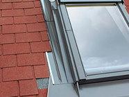 Angled Low-Profile Roof Window Flashings
