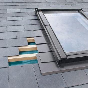 Side Hung Window Flashings for Slate Roofs
