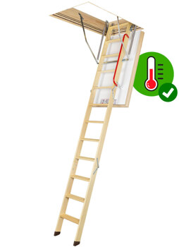 FAKRO Insulated Wooden Loft Ladders - LWT