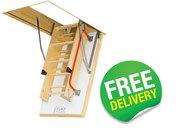 FAKRO Highly Insulated Folding Loft Ladders - LTK