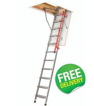 FAKRO Metal Luxury Loft Ladders - LML