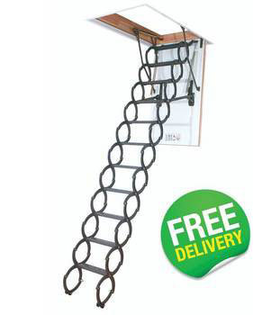 FAKRO Economy Scissor Loft Ladder - LST