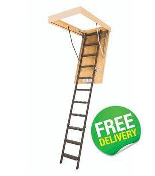 FAKRO Economy Metal Folding Loft Ladder - LMS