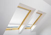 Pleated Roof Window Blind Sale