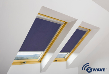 Electric Pitched Roof Window Blinds