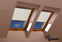 Z-Wave Electric Dimming Roller Blinds