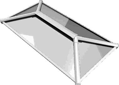 White Lantern Roofs