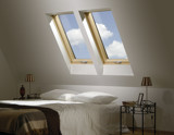 Fakro FTS roof window 4