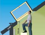 Side hung escape window