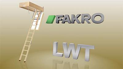 LWT Wooden Loft Ladder