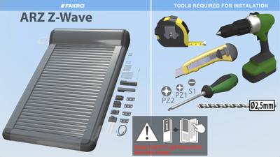 ARZ-Z Wave Installation Instructions